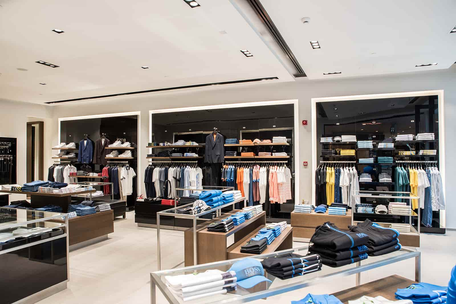 HUGO BOSS AT MARINA MALL – ABU DHABI, UAE