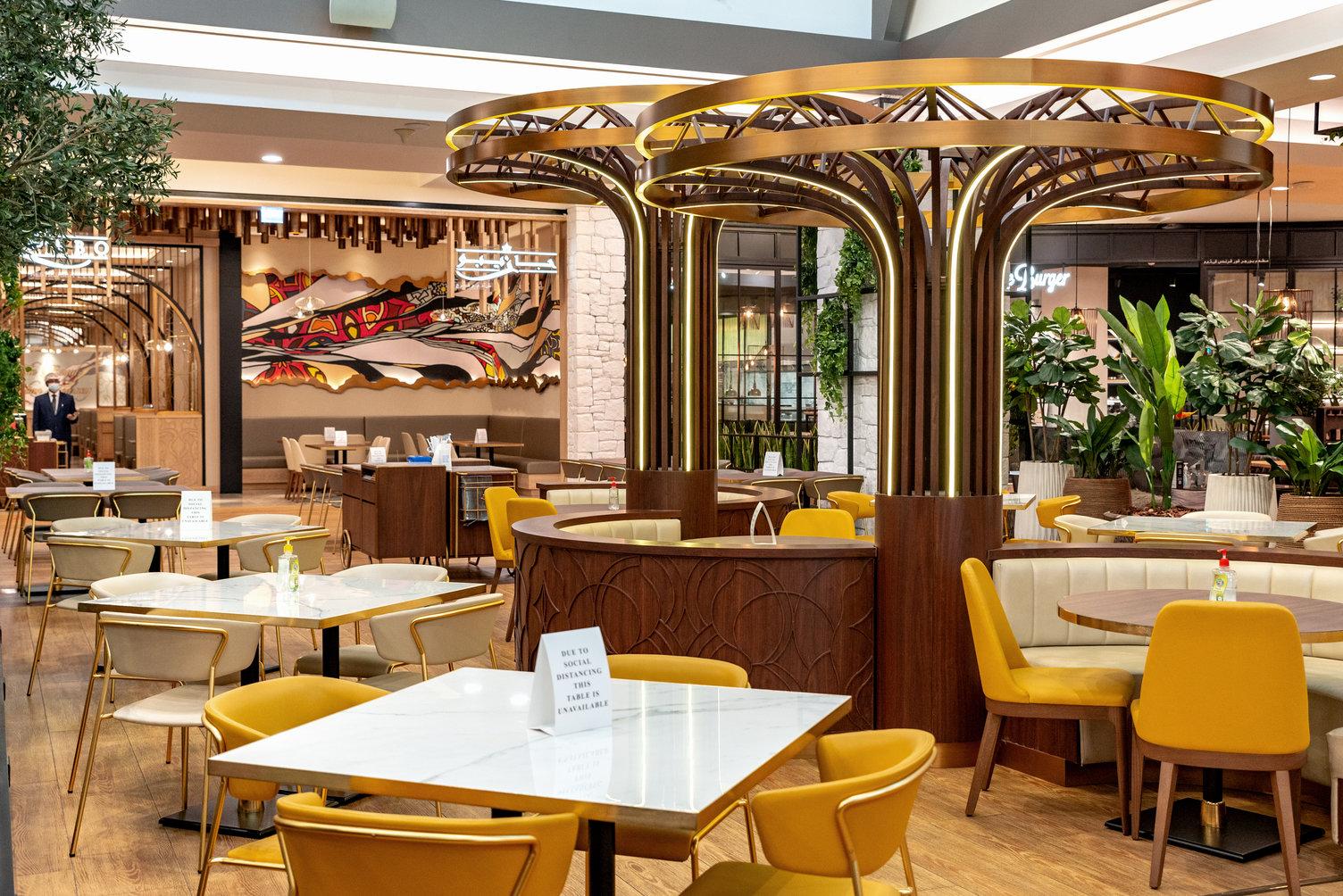 Gazeebo at The Mall of the Emirates – Dubai, UAE